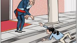 Pedro V recibe a Iglesias