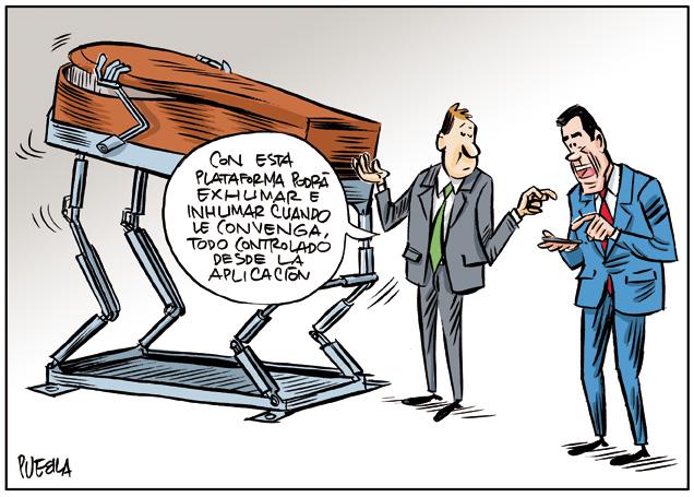 Vanguardia tecnológica para exhumaciones