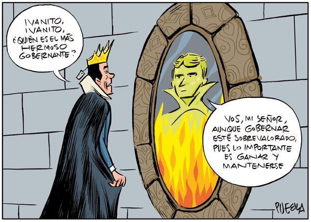 Pedro Sánchez ante el espejo
