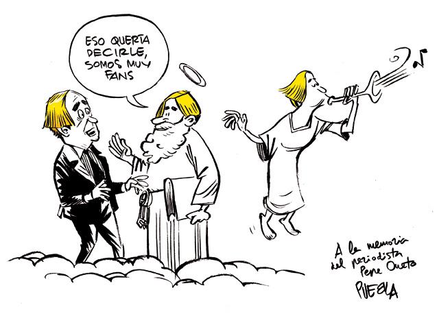 A la memoria del periodista Pepe Oneto