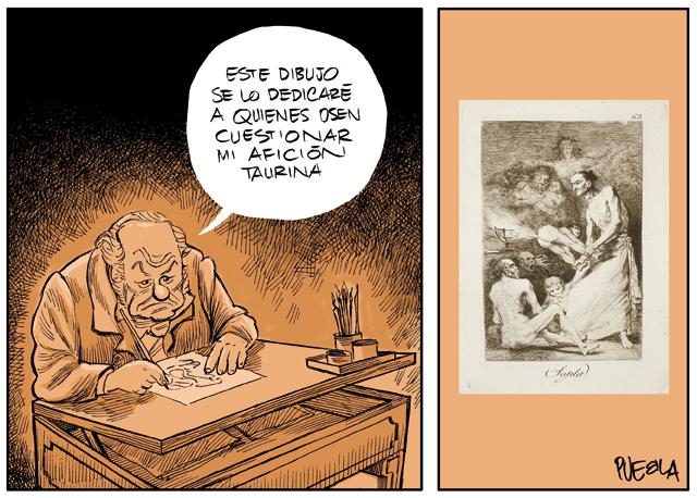 Goya 'antitaurino ilustrado'