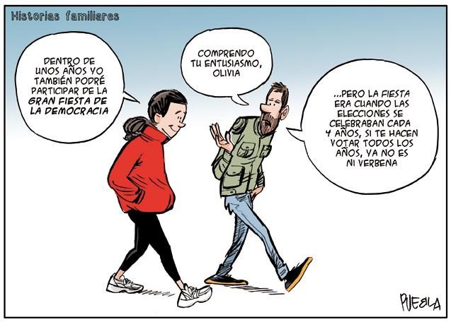 Historias familiares. Elecciones.