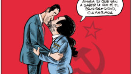 Camaradas Sánchez e Iglesias