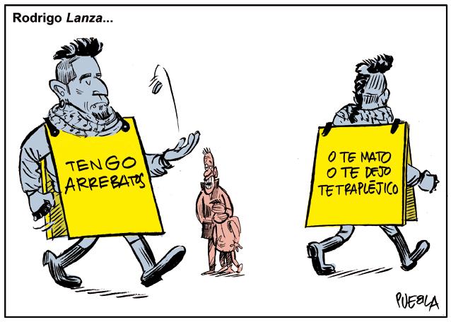 Rodrigo 'Lanza'…