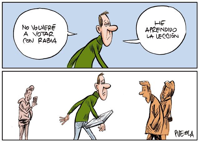 Votar con rabia