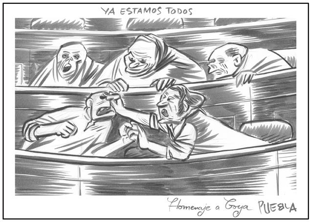 Un homenaje a Goya