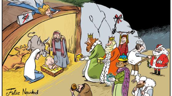 ¡Feliz Navidad, queridos lectores!