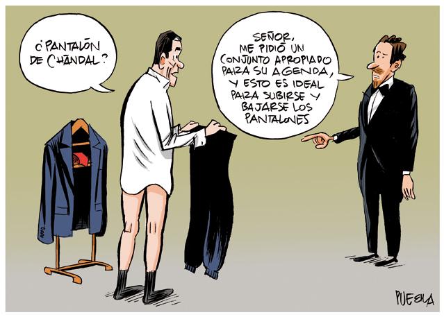 El pantalón de Sánchez