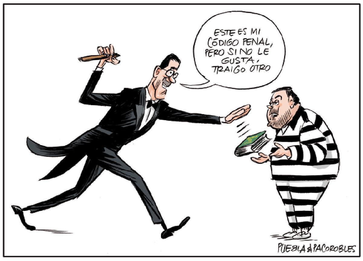 Groucho Sánchez y el Código Penal