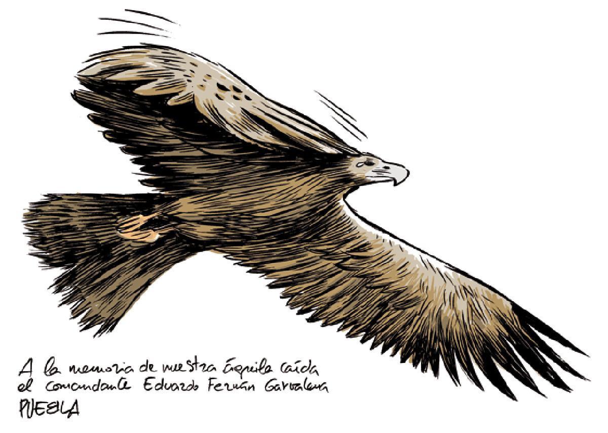Águila caída