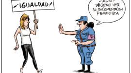 Policía feminista