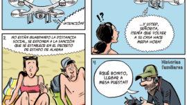 Drones de vigilancia en las playas