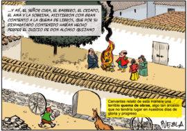 El Quijote y la Libertad que se llevó el viento