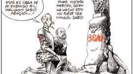 Don Quijote, Sancho y ¿el malvado sabio Frestón?