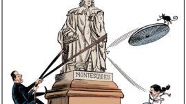 Sánchez, Iglesias y Montesquieu