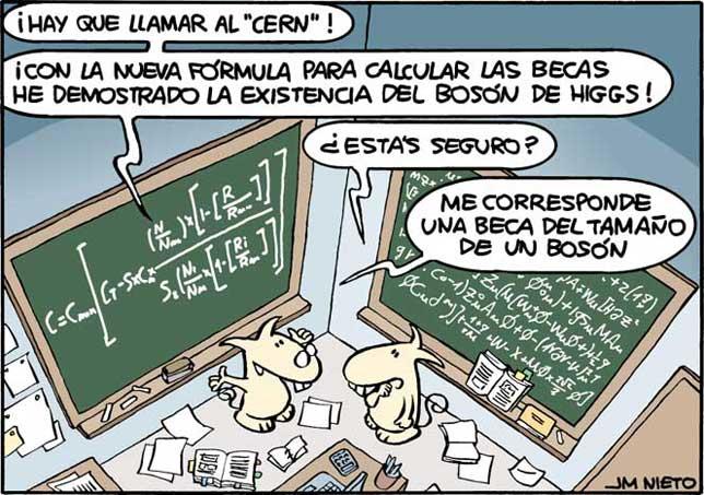 La fórmula de las becas, por J.M. Nieto