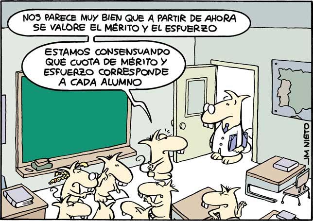 Consensuar el esfuerzo, por J.M. Nieto