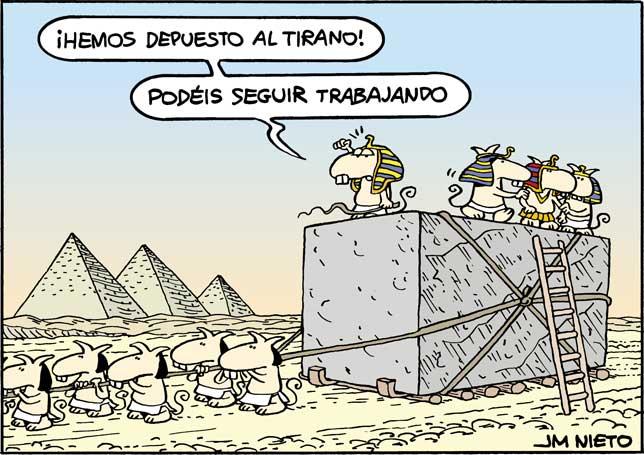 Tiranos egipcios, por J.M. Nieto
