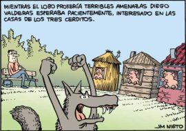 Valderas y el lobo, por J.M. Nieto