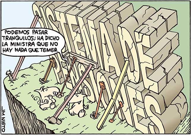 No hay ningún peligro con las pensiones