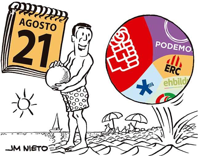 Agenda veraniega de Pedro Sánchez