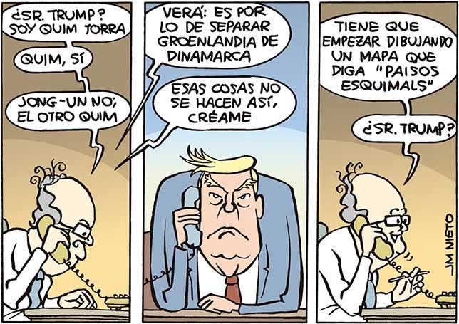 Llamada de Torra a Trump