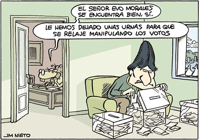 Los pasatiempos de Evo Morales