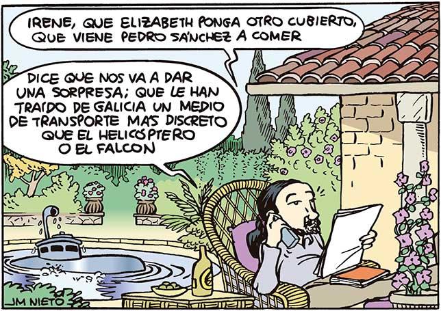 Mientras tanto, en Galapagar…
