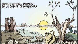 Paisaje español después del debate de investidura