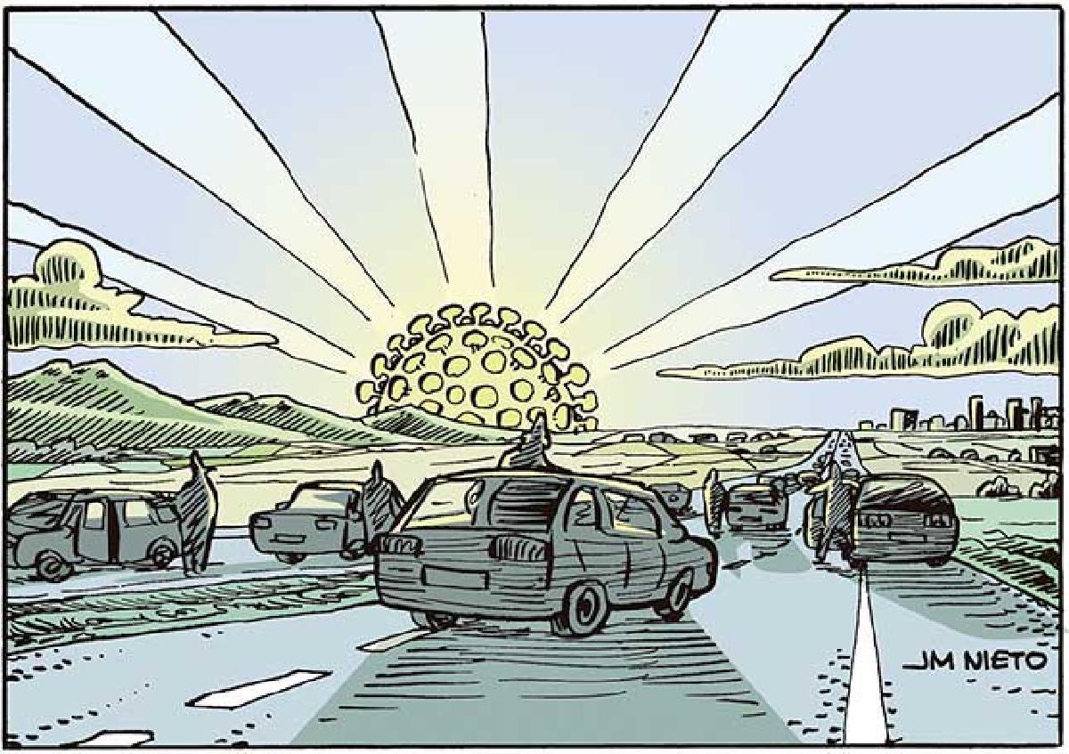 Amanecer apocalíptico