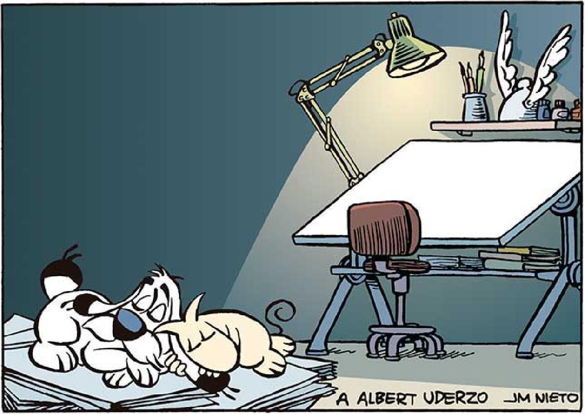 A la memoria de Albert Uderzo.