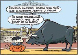 Si al Gobierno le gustaran los toros