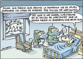 Mientras tanto, en un hospital español
