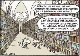 El archivo de la pandemia en España