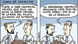 Duelo de centristas