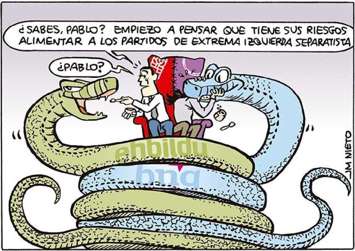 Alimentar a las serpientes