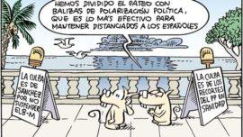 Distancia social a la española