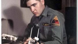 """Elvis Presley, el """"Rey"""" en el Ejército"""