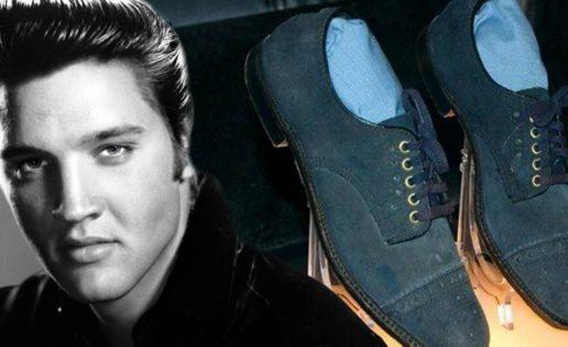 Los zapatos de gamuza azul no eran de Elvis Presley