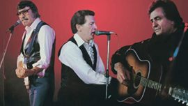 Los supervivientes: Jerry Lee Lewis, Carl Perkins y Johnny Cash