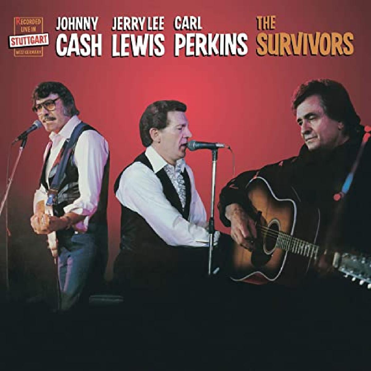 sopravvissuti: Jerry Lee Lewis, Carl Perkins e Johnny Cash
