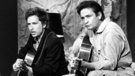 Bob Dylan, Johnny Cash y la chica del norte