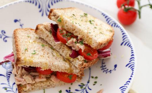 La receta fácil para preparar un bocadillo saludable en cinco minutos