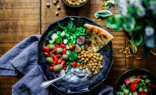 La adaptación vegana del plato saludable de Harvard