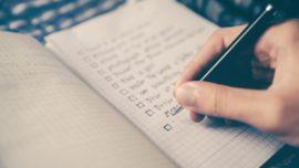 ¿Cómo organizar tus tablas de ejercicios durante un largo periodo de tiempo?