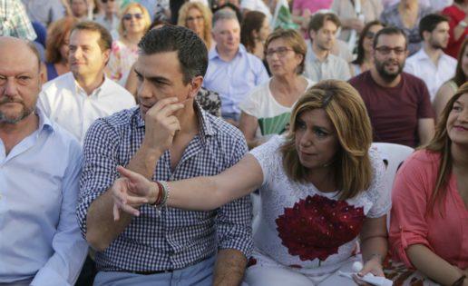El agónico desafío de Pedro Sánchez a Susana Díaz