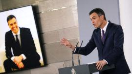 """Pedro Sánchez, el Rey Sol, """"yo soy España"""""""