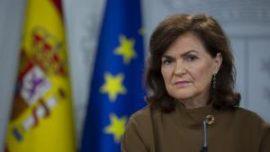 Sánchez manda a Carmen Calvo a dar la cara, y a que se la partan