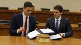 La estrategia suicida de Ciudadanos: pactar con el PSOE
