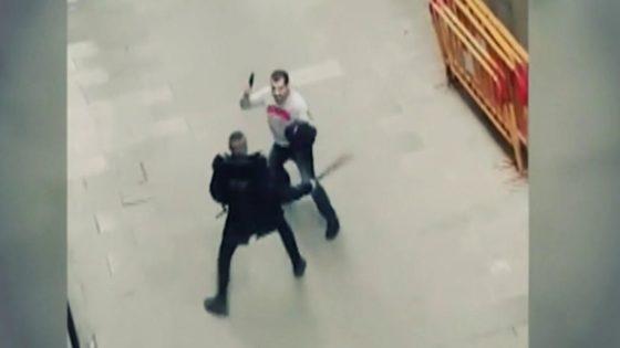 Marlaska se hace el sueco ante la violencia de la Barcelona de Colau